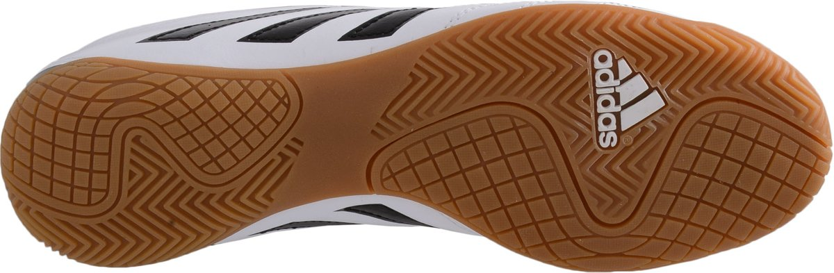 c6218c83778 bol.com | adidas Goletto V IN - Zaalschoenen - Mannen - Maat 46 - wit/  zwart/ geel