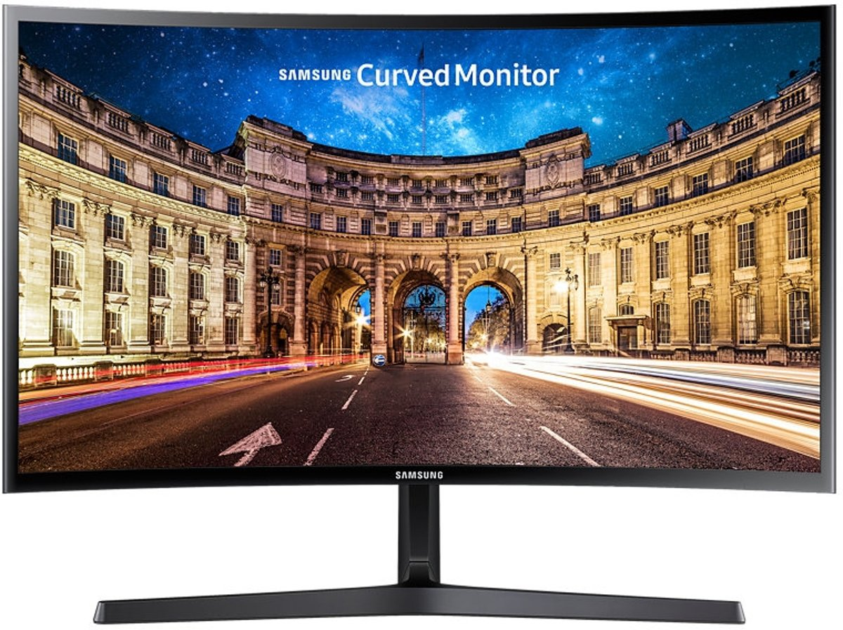 Samsung C27F398FWU - Full HD Curved Monitor voor €138,90