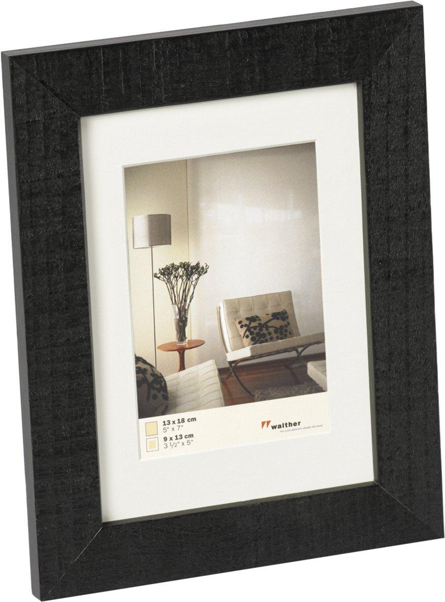 bol.com | Walther Home - Fotolijst - Fotomaat 13x18 cm - Zwart