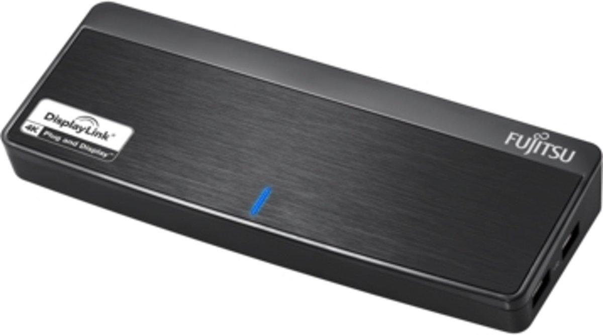 Fujitsu PR8.1 USB 3.0 (3.1 Gen 1) Type-B Zwart kopen