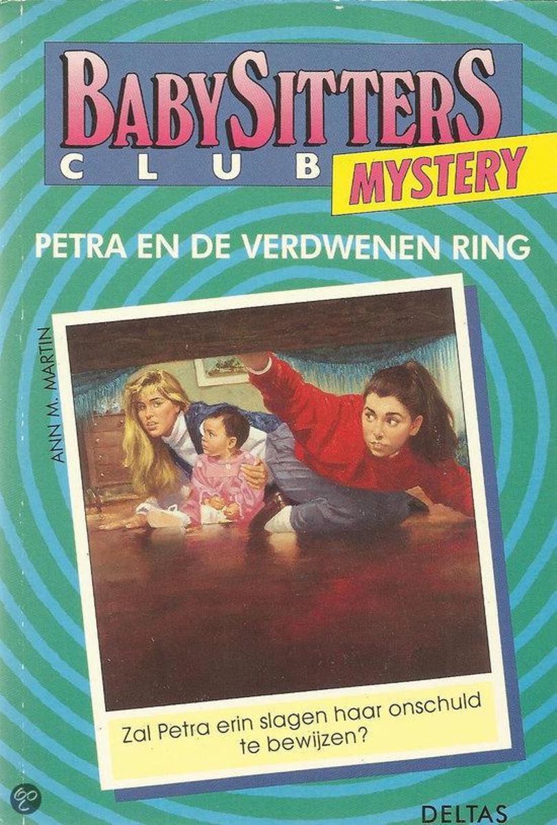 Image result for Babysitters club mystery: Petra en de verdwenen ring - Ann M. Martin