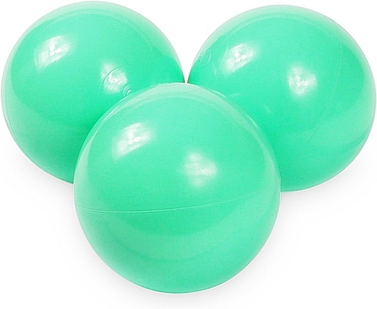 Ballenbak ballen mint (70mm) voor ballenbak 100 stuks