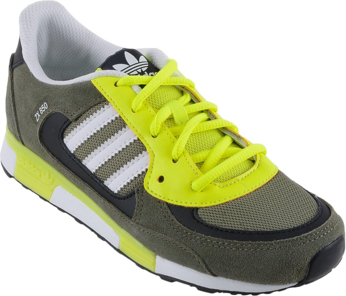 wholesale dealer f2523 15b1e bol.com   adidas ZX 850 Junior - Sneakers - Unisex - Maat 34 - Groen