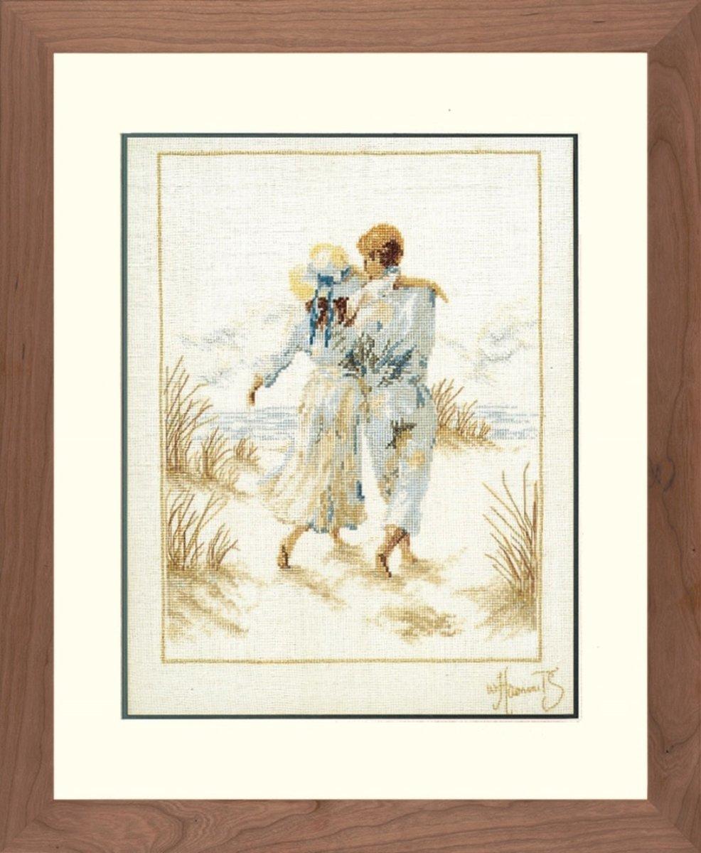 Telpakket kit Romantisch paar  - Lanarte - PN-0007948