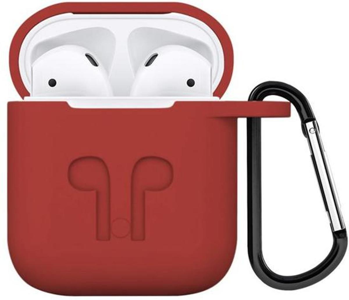 Airpods hoesje - geschikt voor Apple Airpods - Rood kopen
