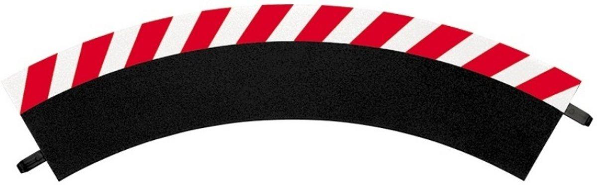 Carrera Buitenslipstroken bocht 1/60° + eindstukken - racebanen - 1:32