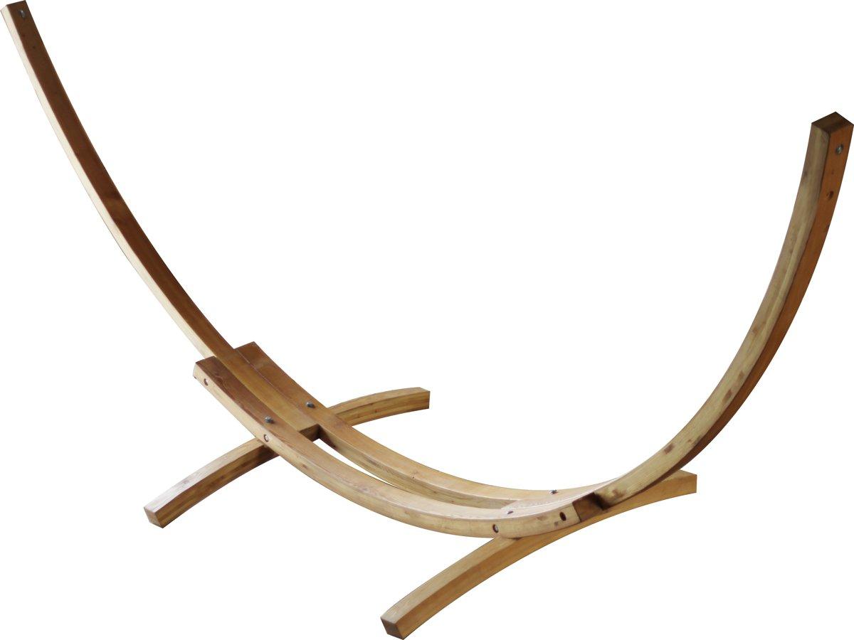 Hangmat boogvormige standaard 460 cm - larikshout