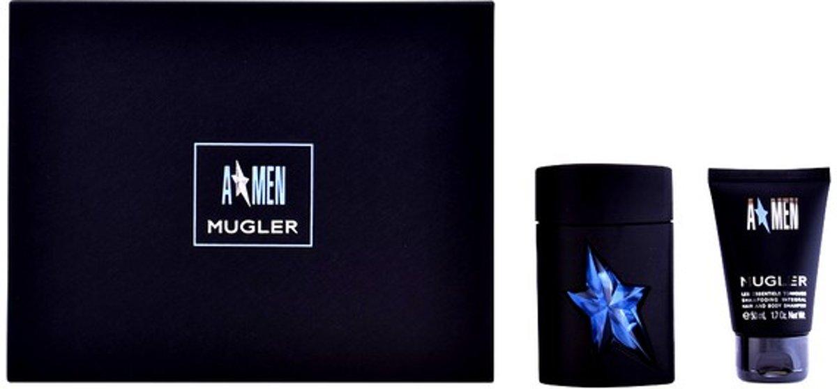 Parfumset voor Heren A*men Mugler Thierry Mugler (2 pcs) Zwart kopen