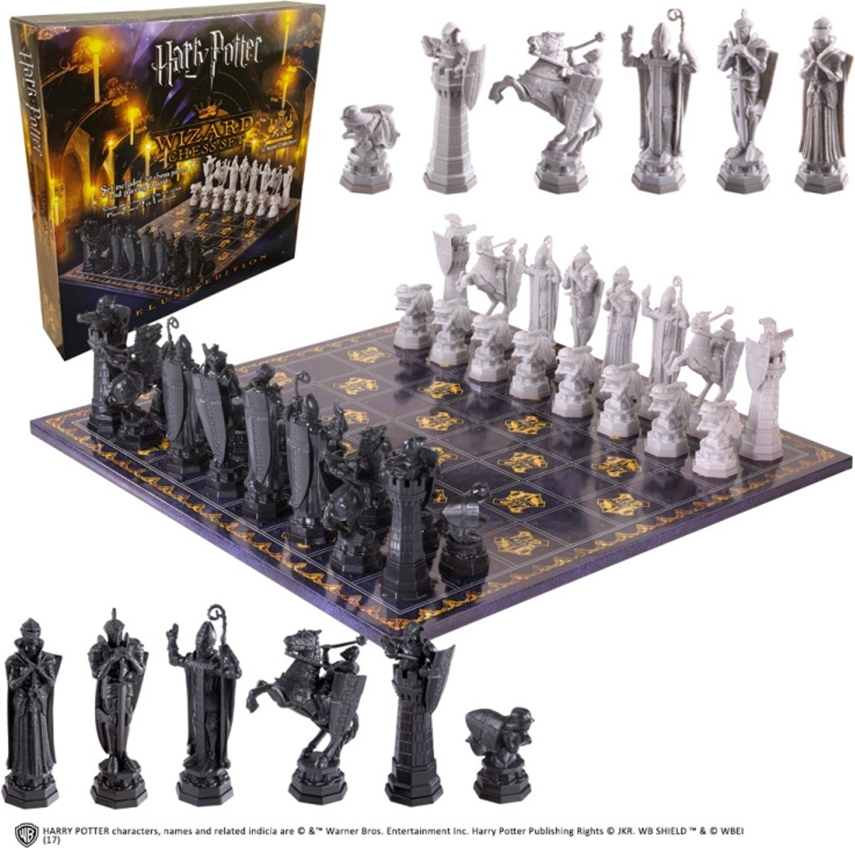 Harry Potter Wizard's Chess Set Deluxe Edition