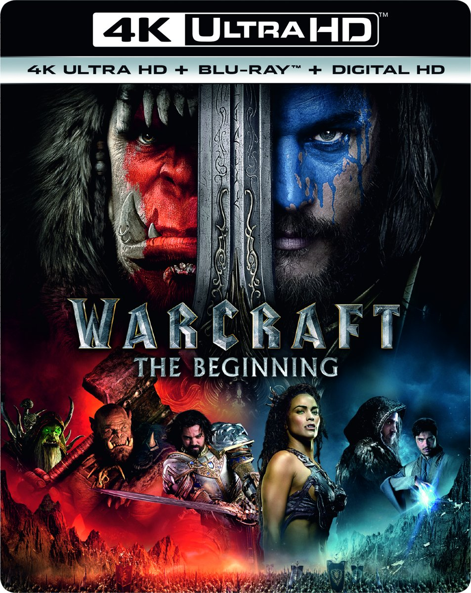 Warcraft: The Beginning (4K Ultra HD Blu-ray)-