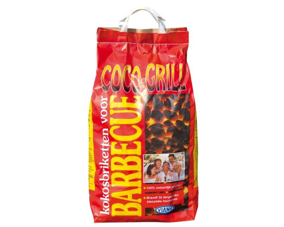 Viano houtskool Coco-Grill 5 kg kopen