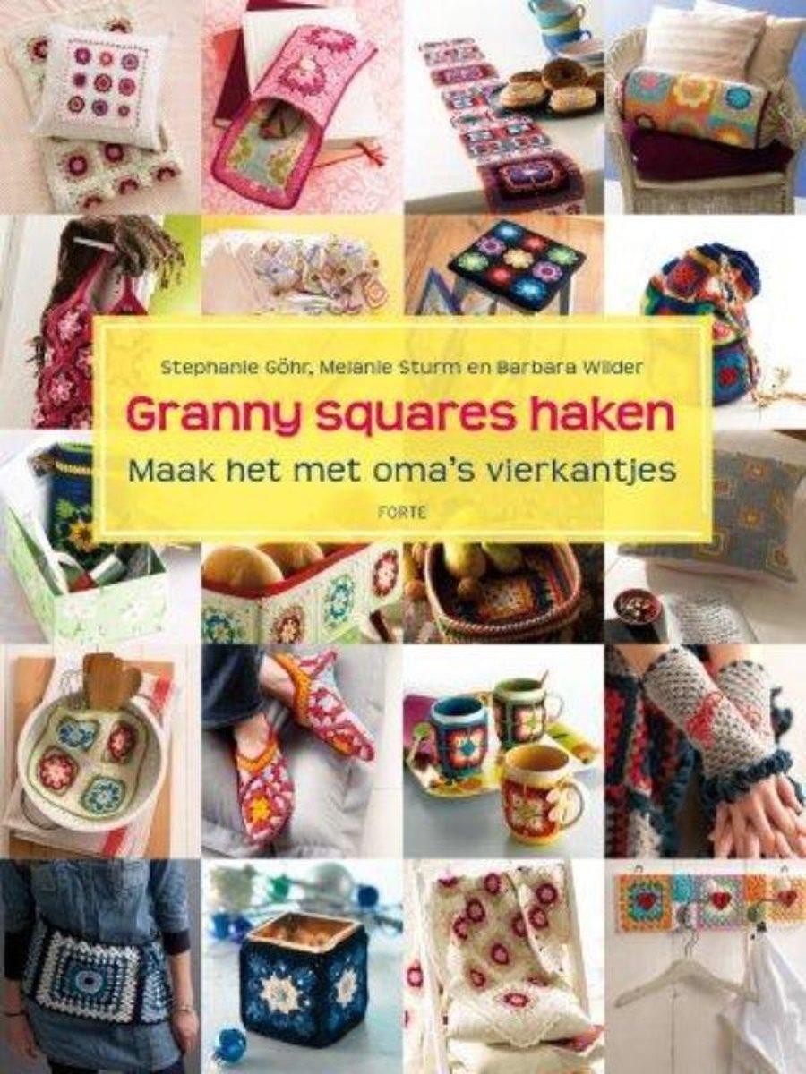 Bolcom Granny Squares Haken Stephanie Gohr 9789058779243 Boeken