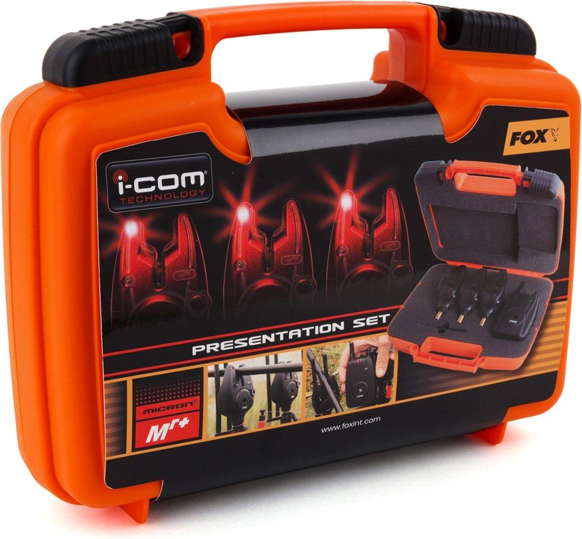 Fox Micron MR+ 3 Rod - Beetmelderset - 3+1