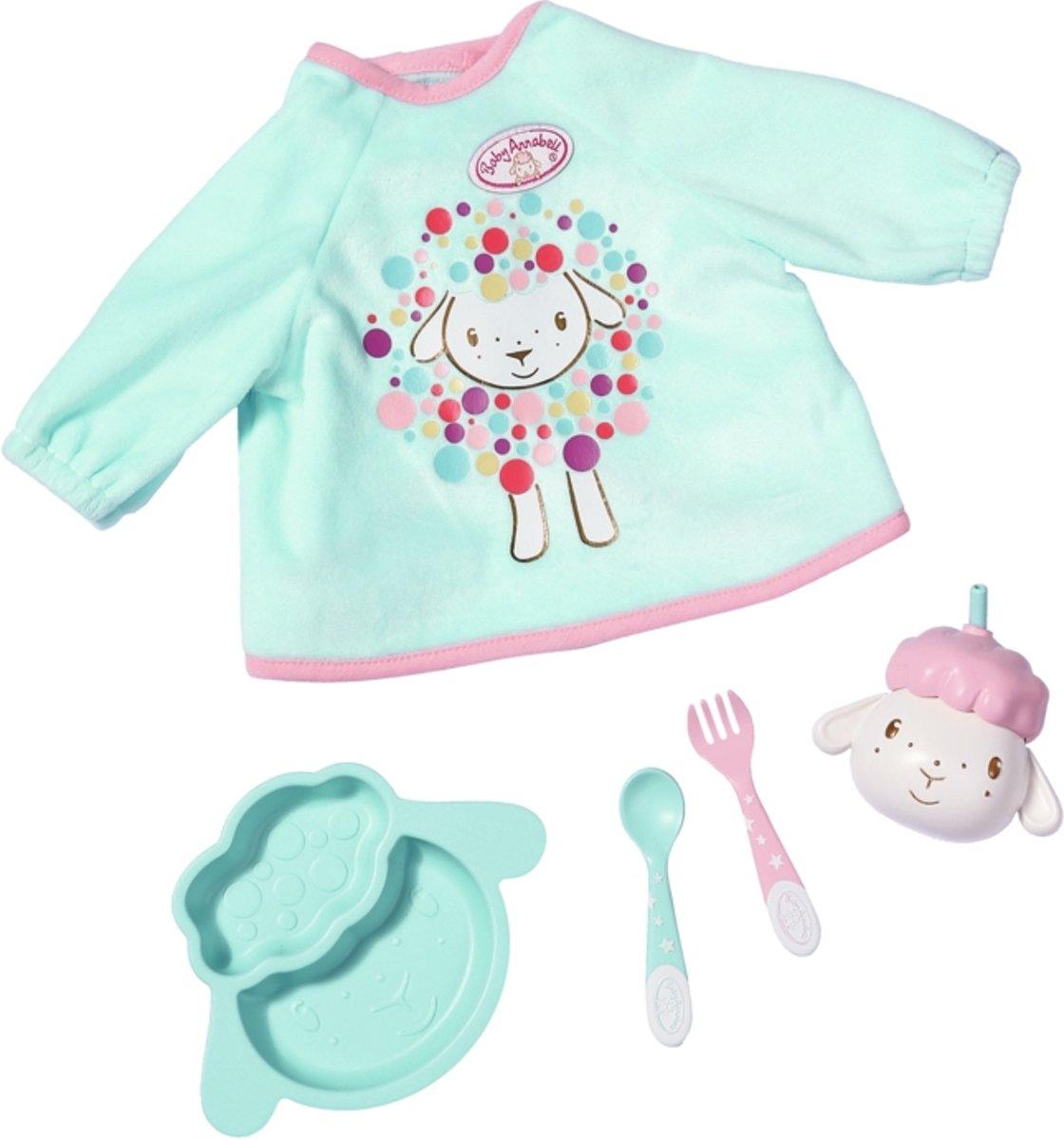 Baby Annabell Lunch Set - Shirt en Servies