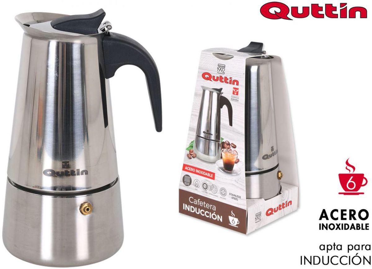 Quttin espresso maker - 6 kopjes - RVS - geschikt voor inductie kopen