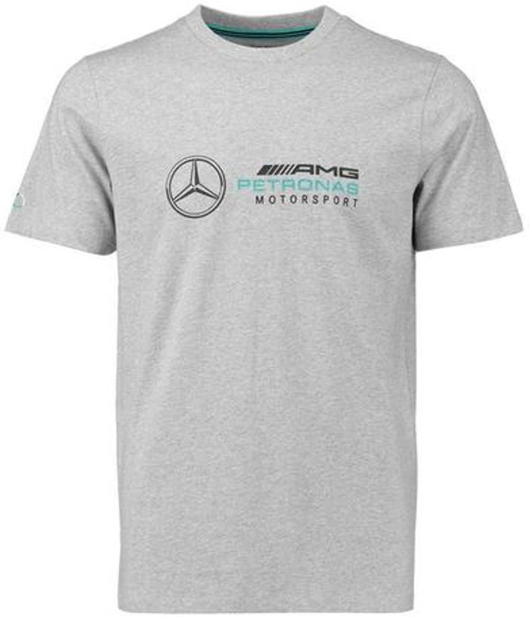 Mercedes F1 logo T- shirt grijs S