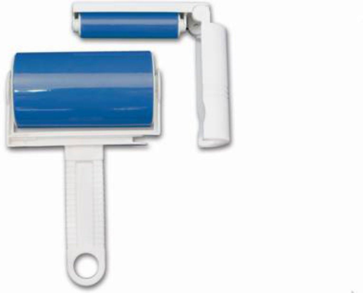 Pluisverwijderaar / pluizenroller / kledingroller / pluizenborstel - 2 stuks - blauw kopen