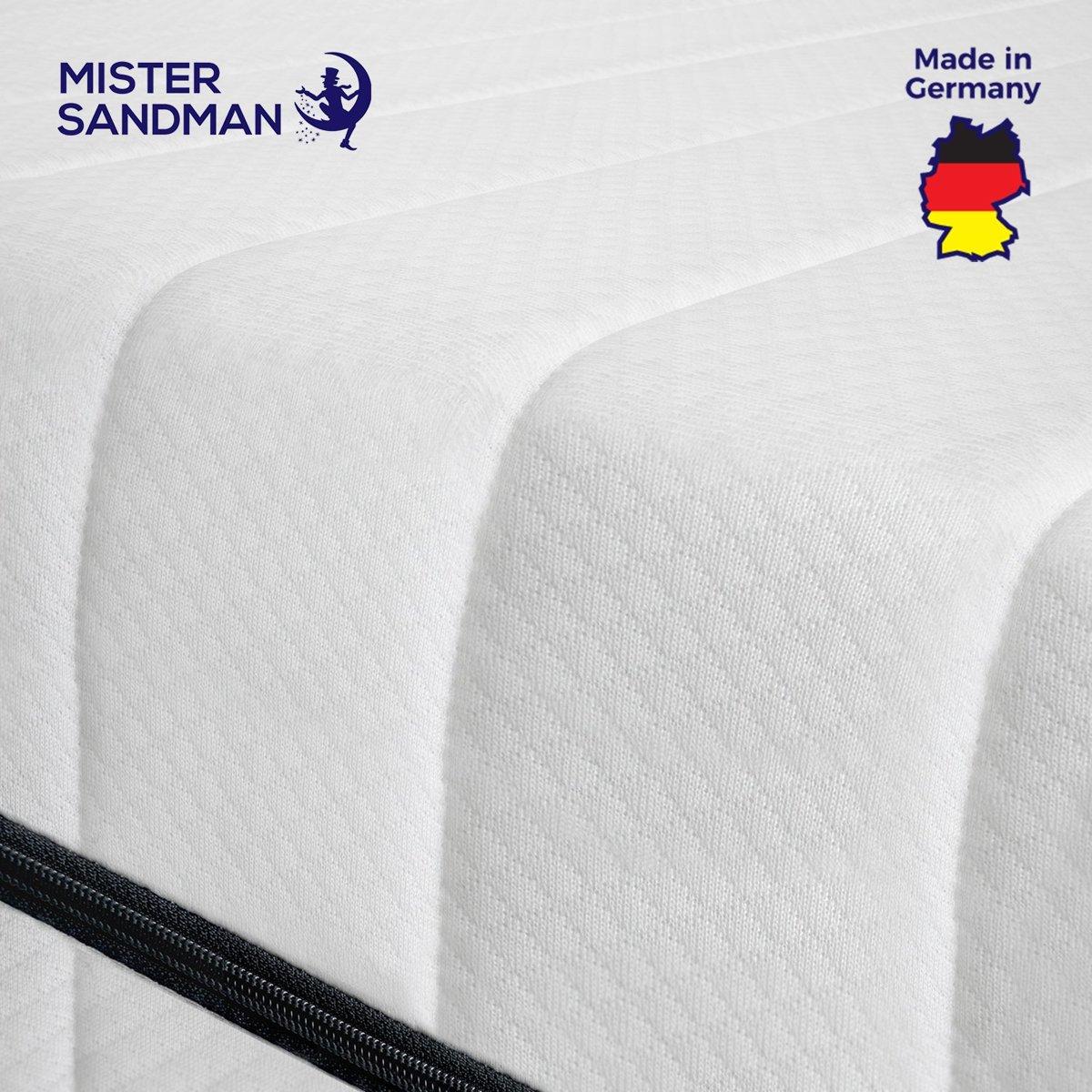 Matras - 120x200 - 7 zones - koudschuim - premium plus tijk - 15 cm - medium & hard