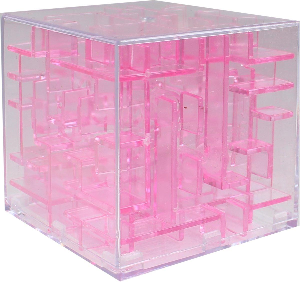 Tutti Frutti Mini-doolhof Transparant Roze 4 X 4 X 4 Cm kopen