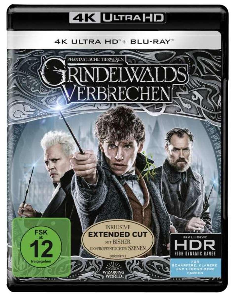 Fantastic Beasts: The Crimes Of Grindelwald (2018) (Ultra HD Blu-ray & Blu-ray)-