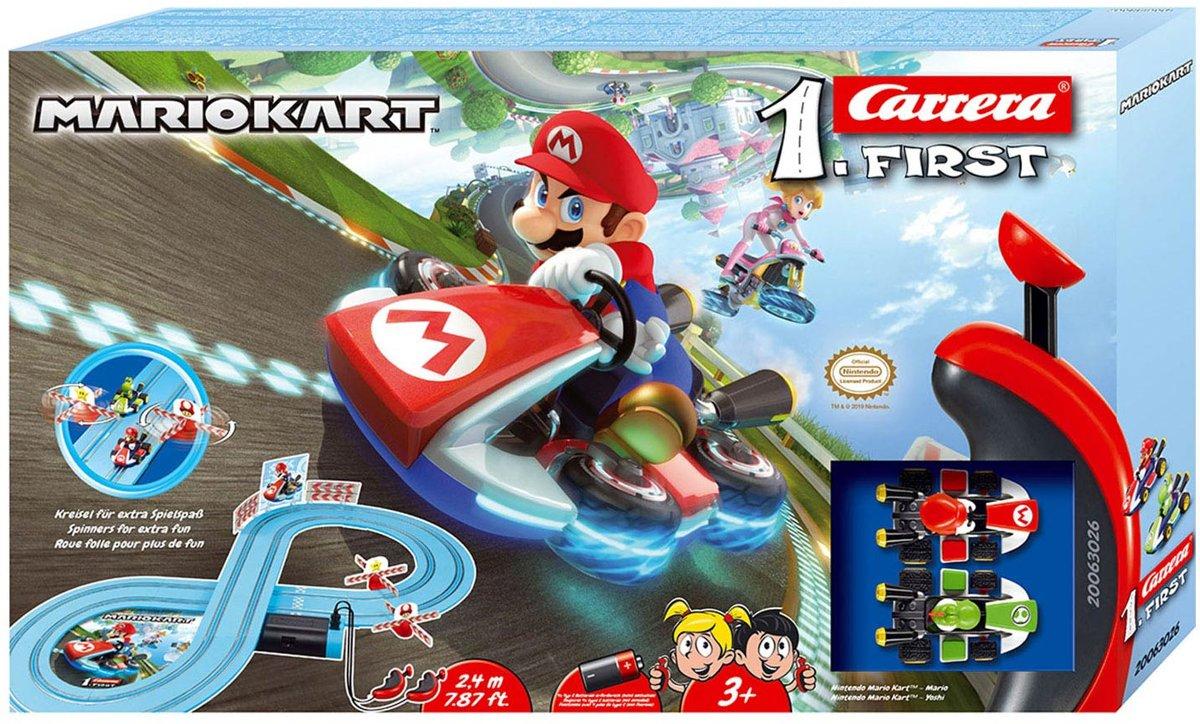 Carrera First Nintendo Mario Kart - Racebaan