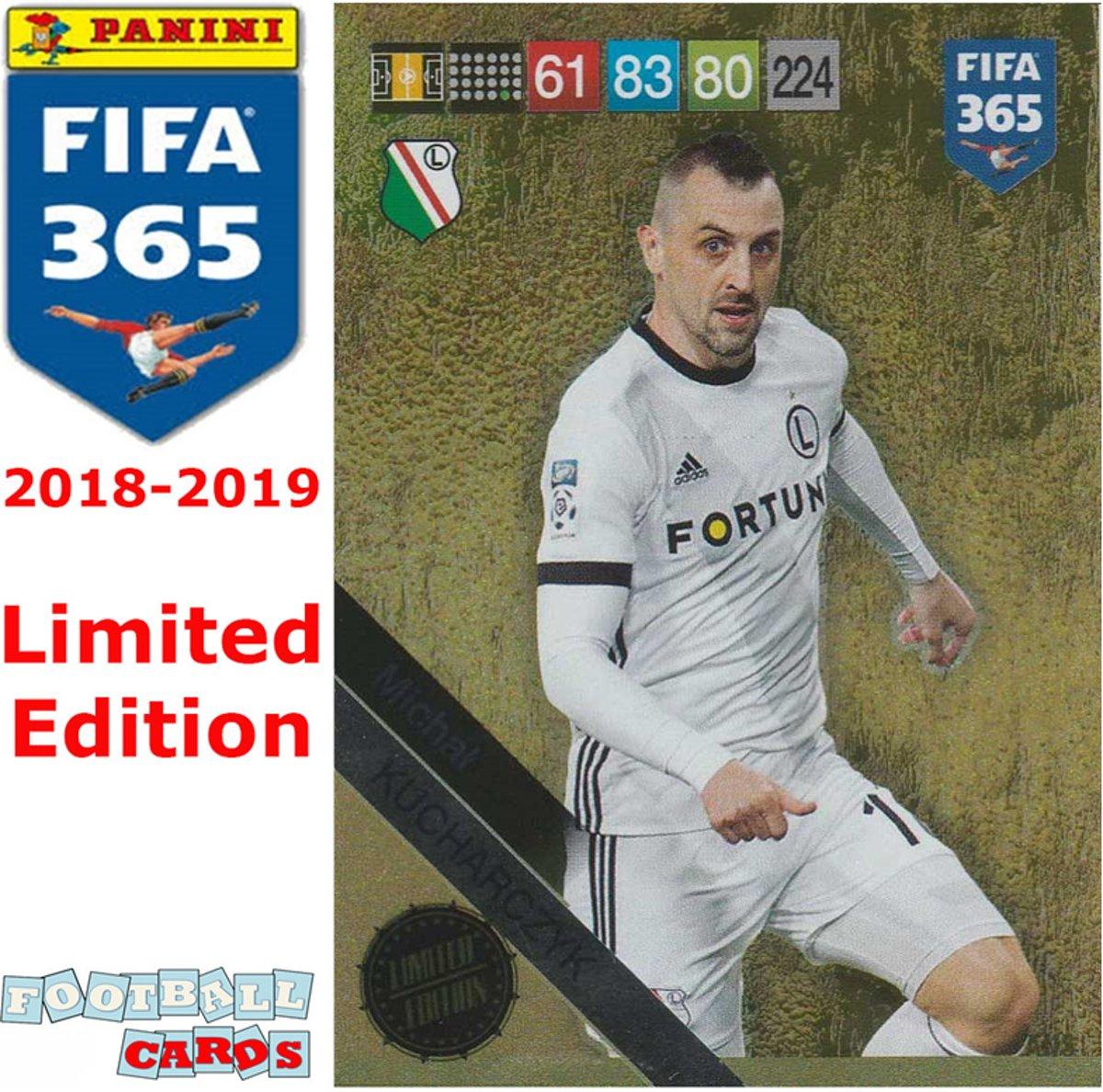 PANINI ADRENALYN XL FIFA 365 2019 Kucharczyk-Limited Edition