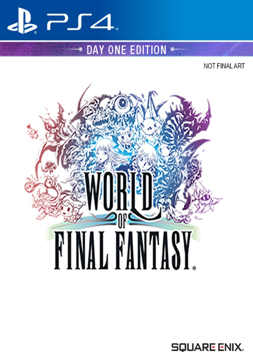 World of Final Fantasy - Day One Edition PlayStation 4