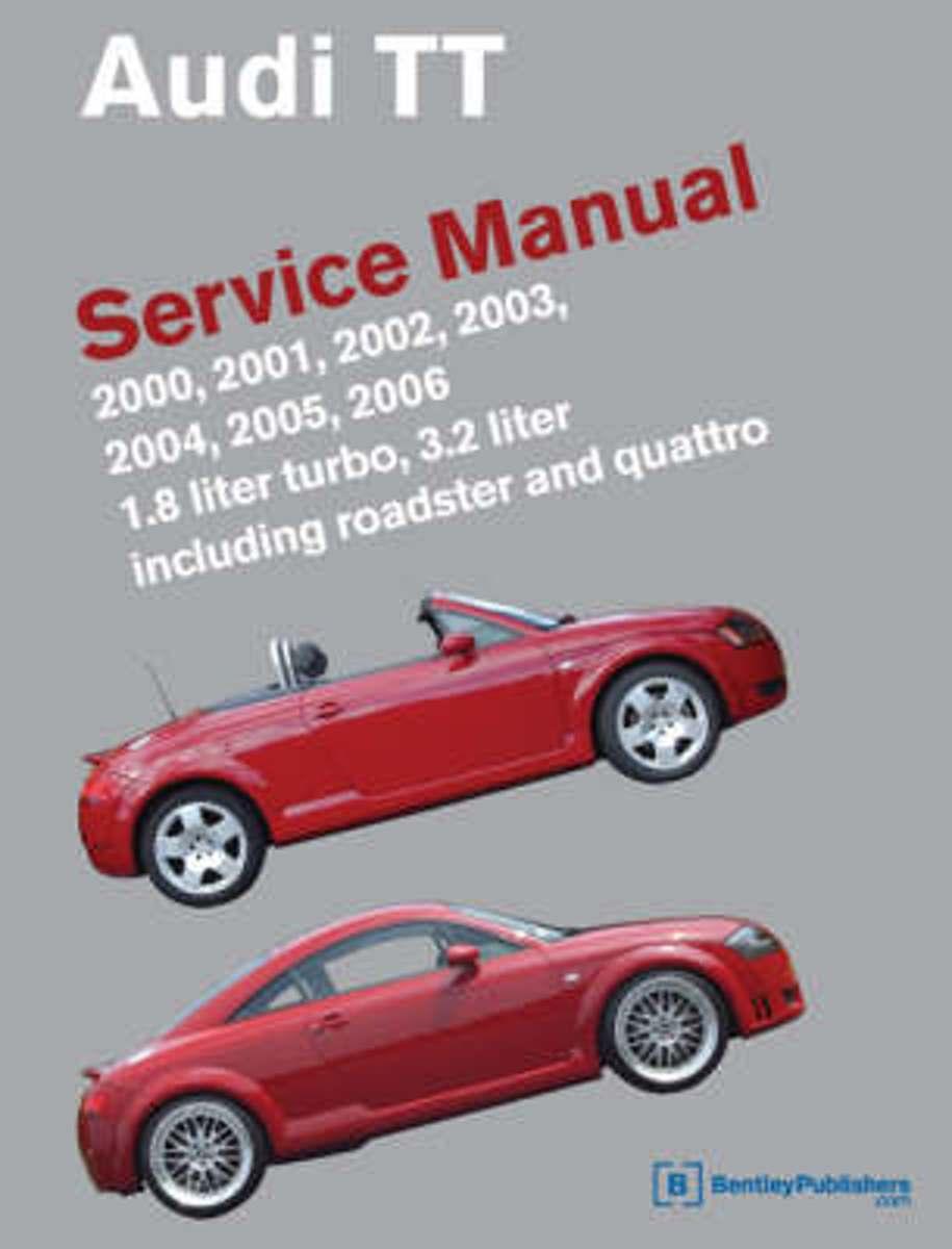 bol.com | Audi TT Service Manual 2000-2006 | 9780837615004 | Bentley  Publishers | Boeken