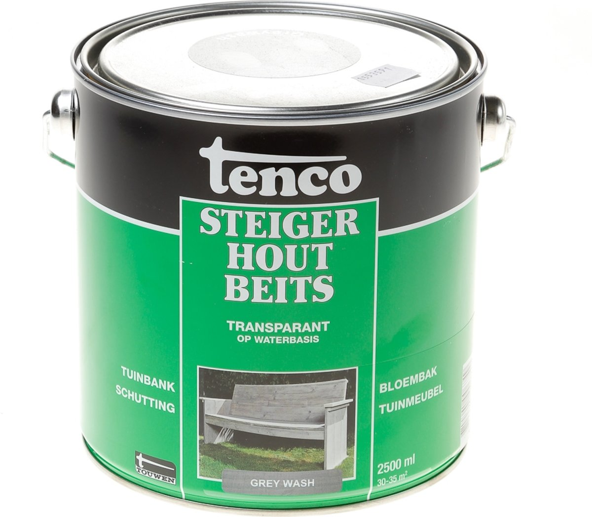 Uitzonderlijk bol.com | Tenco Steigerhoutbeits Grey Wash 2.5 liter FR27