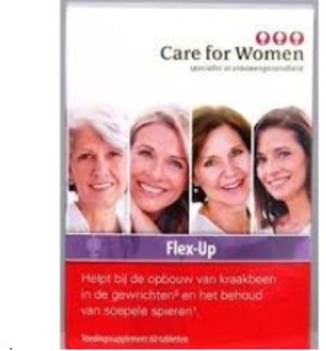 Foto van Care for Women Flex-up - 60 Tabletten - Voedingssupplement