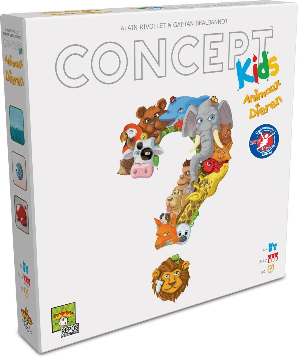 Concept Kids Dieren -  Bordspel