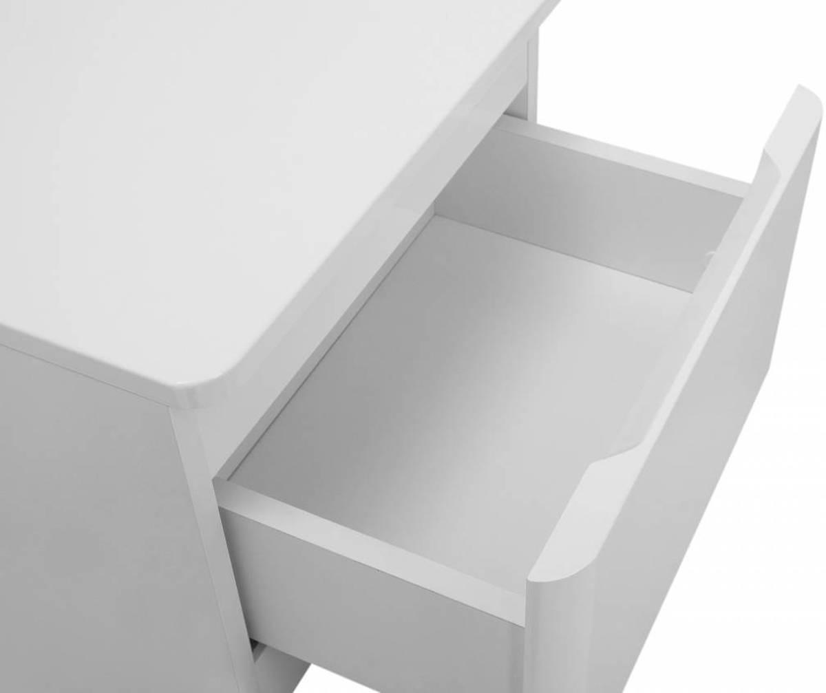 bol.com | Maja - Onderkast badkamer - Wit hoogglans