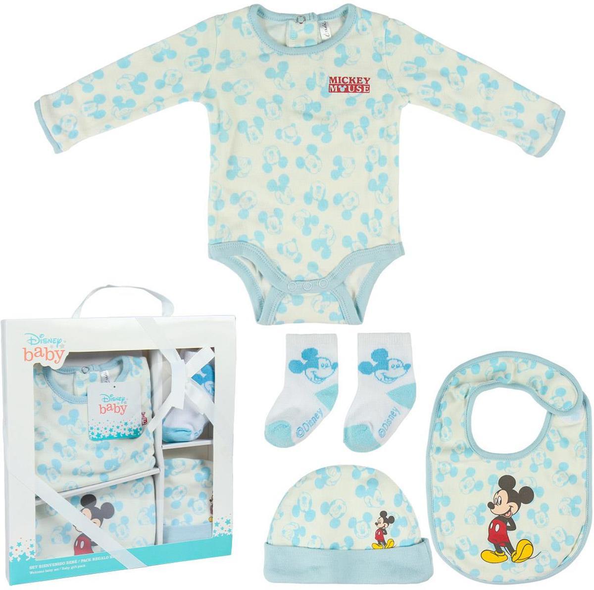 Disney - Mickey Mouse - Kraamcadeau - 1 tot 3 maanden (56cm-60cm) kopen