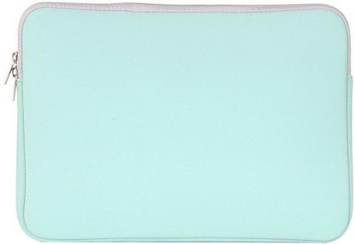 c5f692e4e0a bol.com | Mobigear Neopreen Laptoptas Turquoise voor Macbook Air / Pro 13  inch