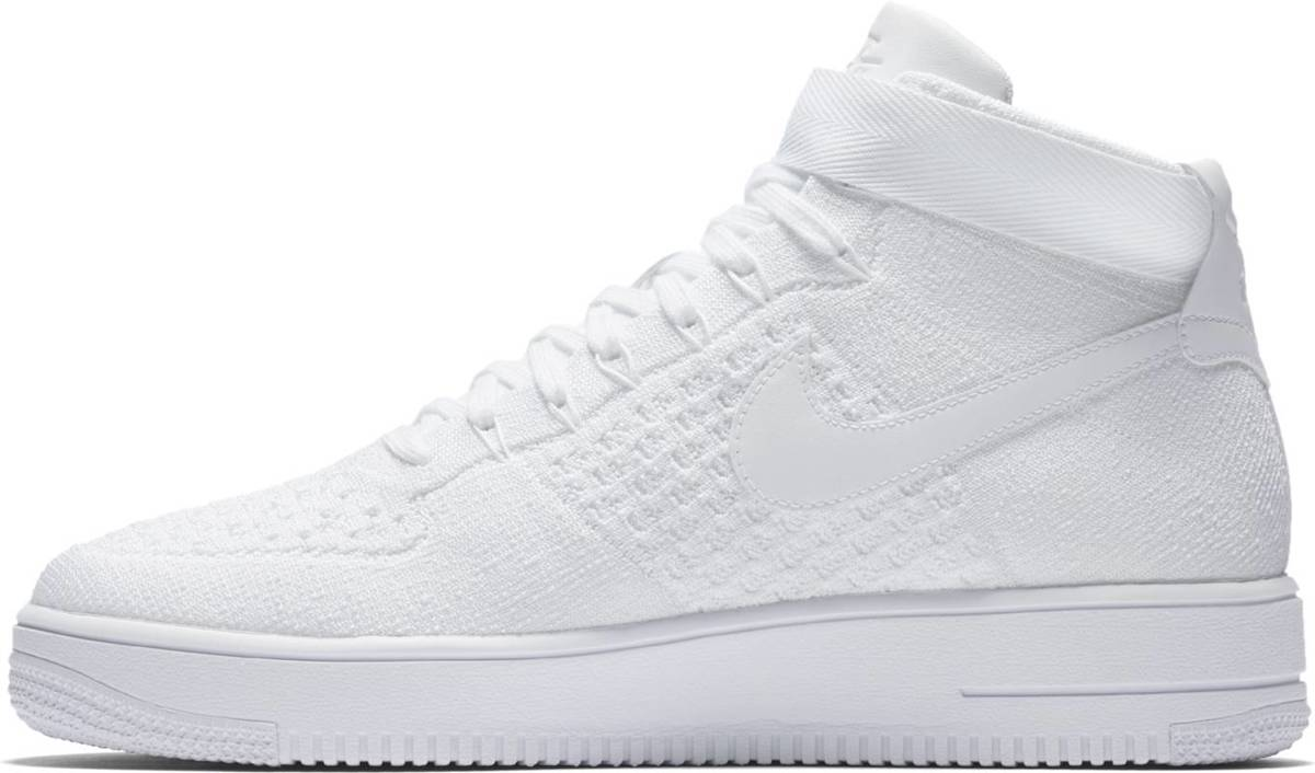 Nike Air Force 1 Ultra Flyknit Low Sneakers Unisex 817420 102 Maat 38,5 Wit