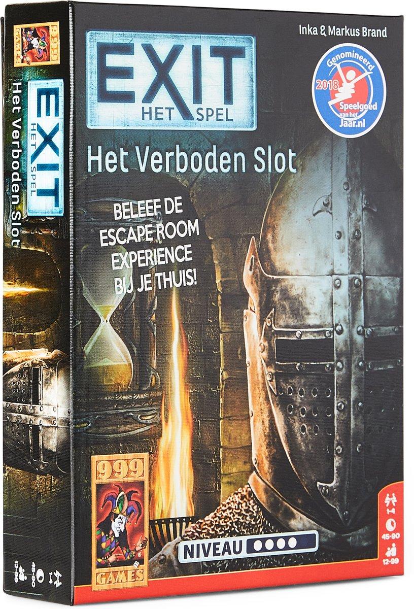 EXIT - Het Verboden Slot Bordspel