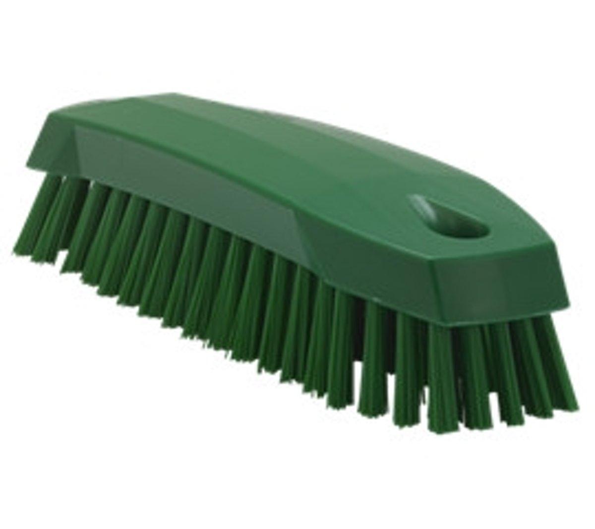 Kleine medium werkborstel - Groen kopen