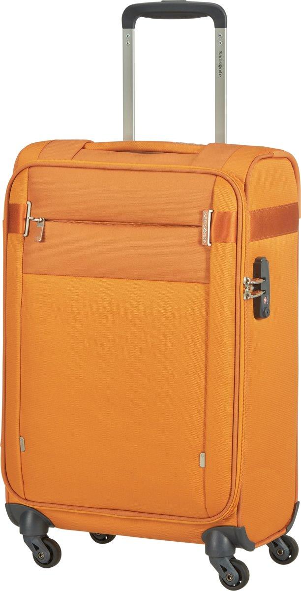 Samsonite Reiskoffer - Citybeat Spinner 55/20 Length 35Cm (Handbagage) Apricot kopen