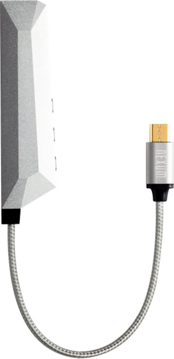 Nexum AQUA Micro Audio Versterker Micro USB Android Zilver kopen