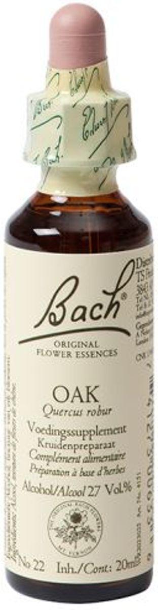 Foto van Bach Flower 22 Zomereik - 20 ml - Voedingssupplement