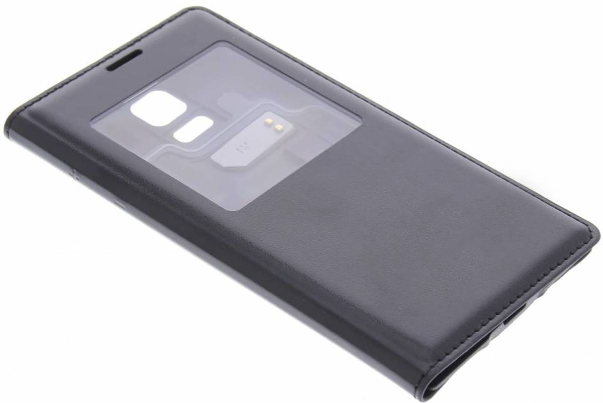 Couvercle Rabattable Rose Avec Fenêtre Pour Le Samsung Galaxy S5 Mini Yhbdfux