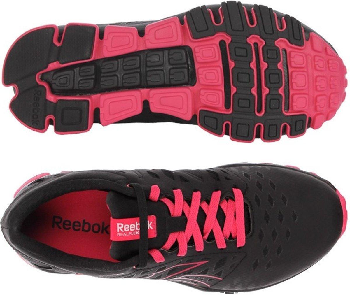 Femmes Reebok Realflex Fusion Chaussures De Course Noir Taille 37.5 pwJ8Xkjnn