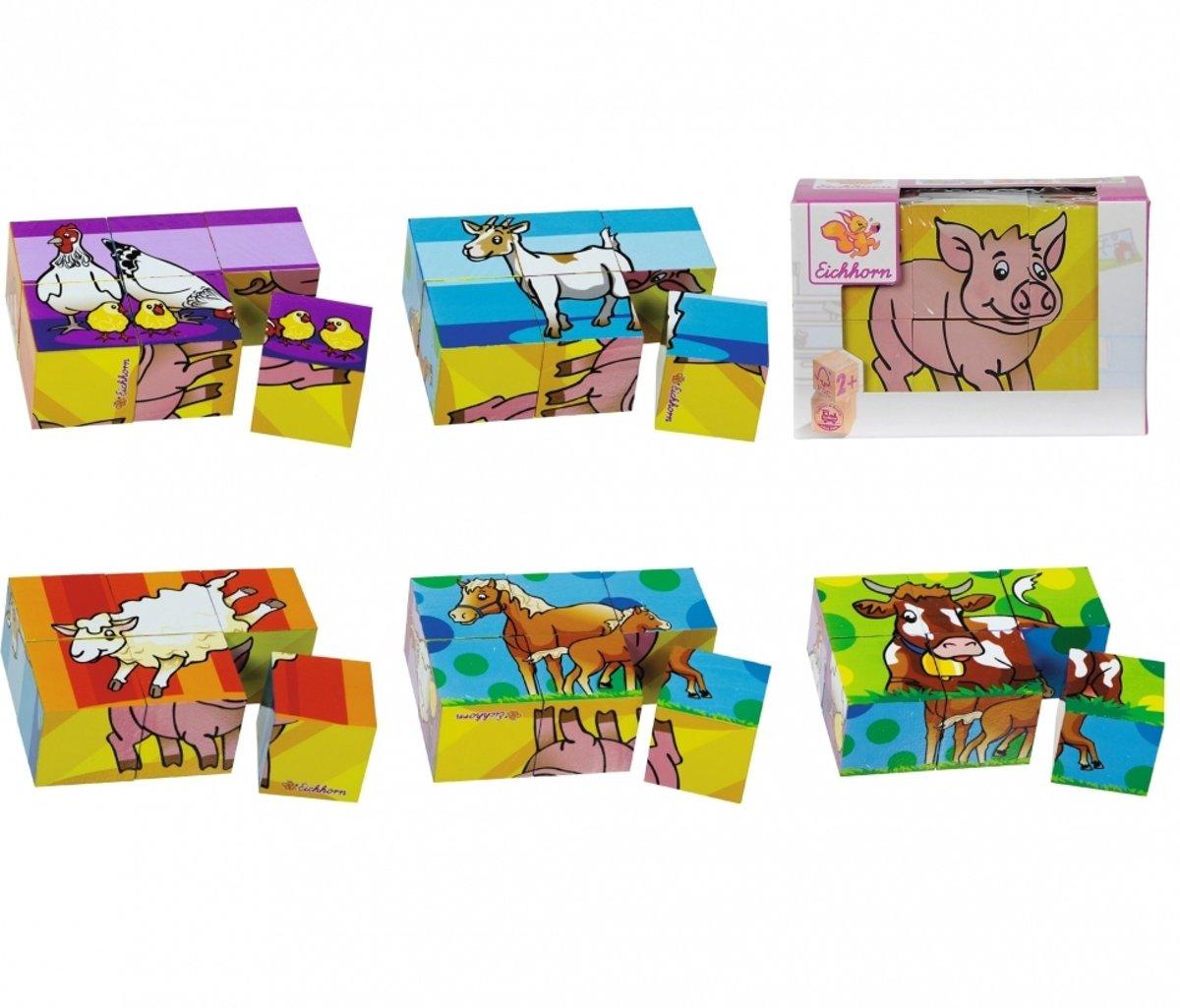 Eichhorn 4003046054811 puzzel Blokpuzzel 6 stuk(s)