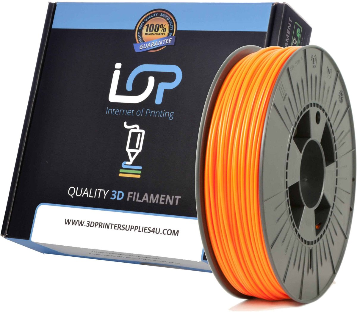 IOP PLA 2,85mm Orange 1kg
