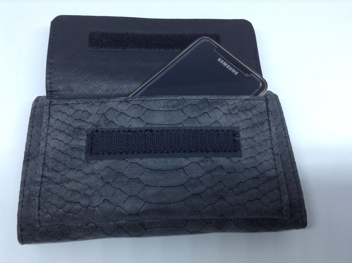 abdebebeb52 bol.com   Mooie portemonnee / tasje met telefoonvakje, zwart - Beagles