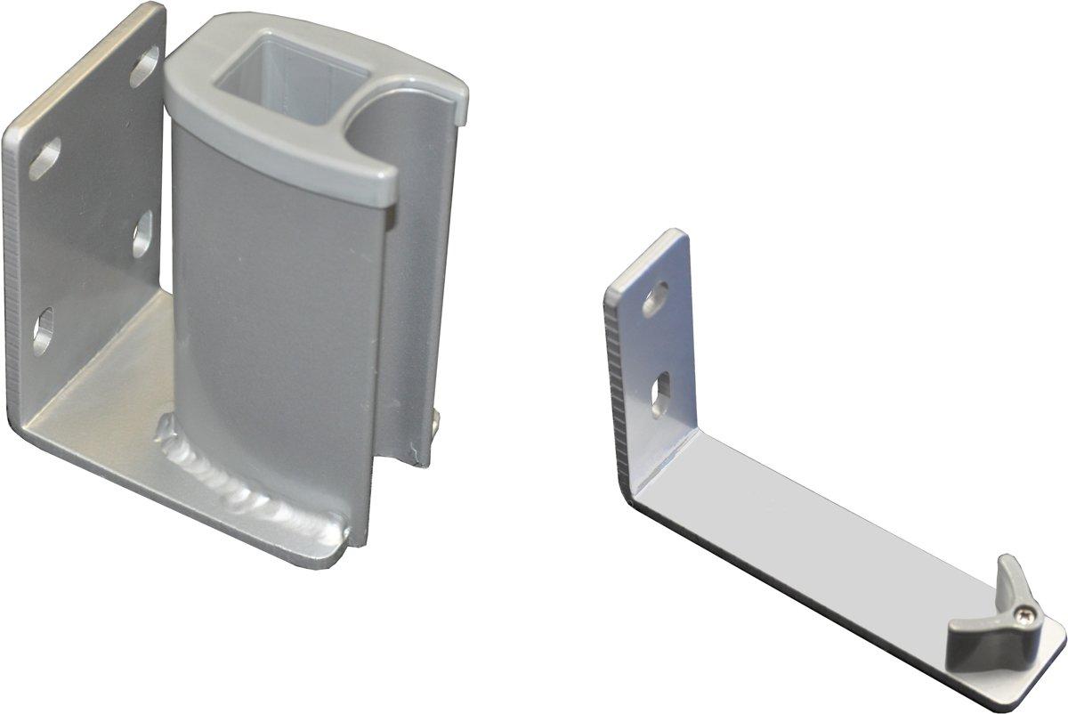 Leco Tuinstoel Leco Oprolbaar windscherm accessoire, 2 delige wandbevestiging