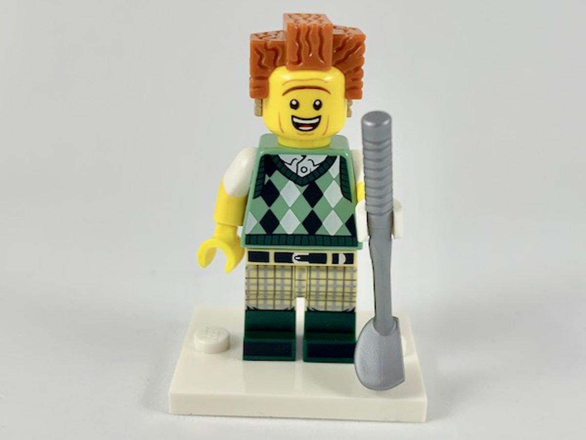 LEGO Minifiguur The LEGO Movie 2 Gone Golfin