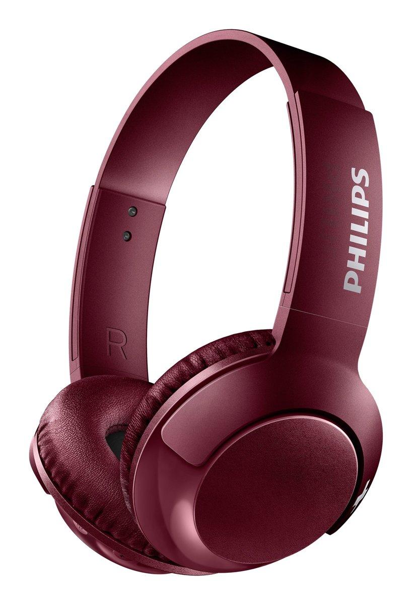 Philips SHB3075 - Draadloze on-ear koptelefoon - Rood kopen