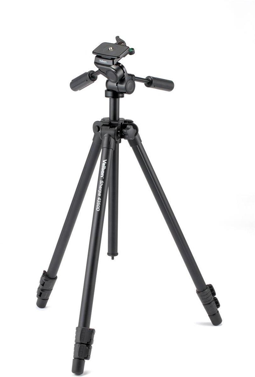 VELBON Sherpa 4350D Zwart + PH-G40D kopen