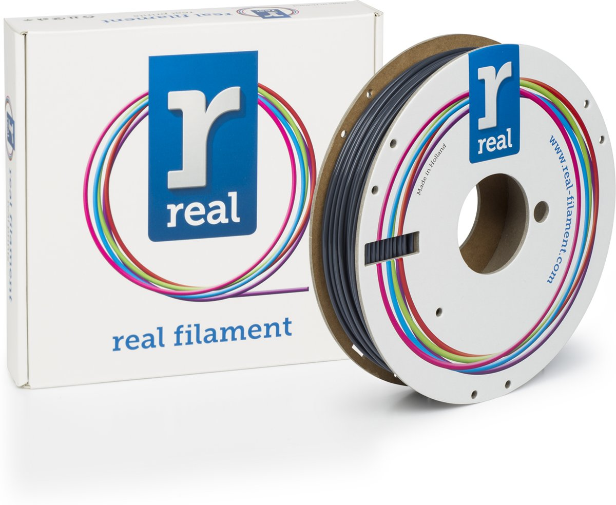 REAL Filament PLA grijs 2.85mm (500g)